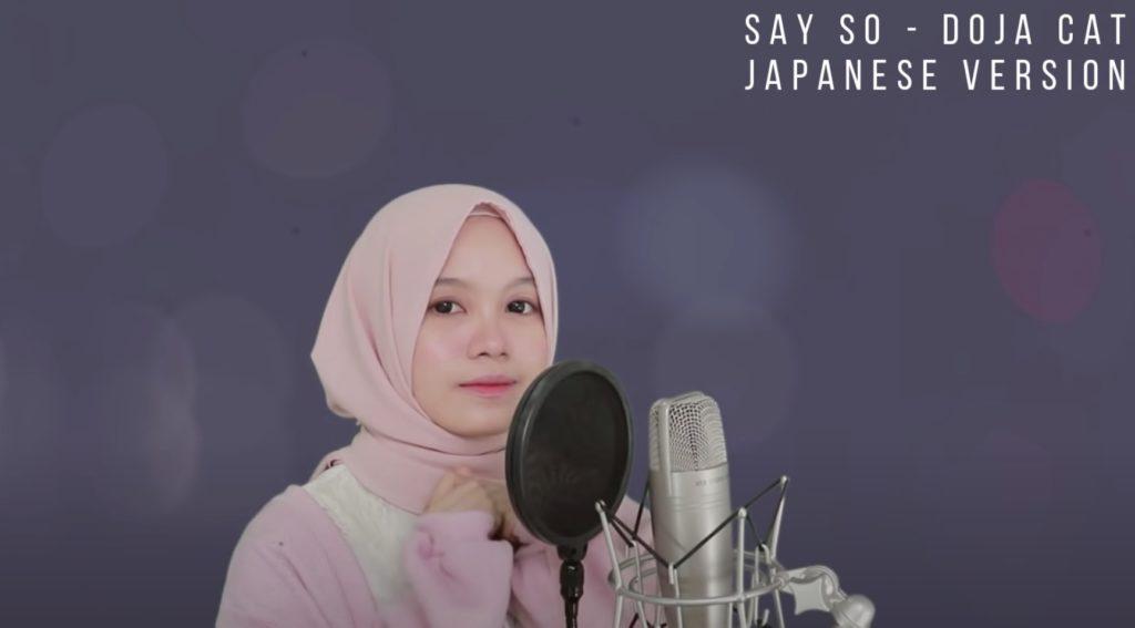 Rainych レイノッチ Doja Cat Say So インドネシア 歌姫 カバー曲 日本語
